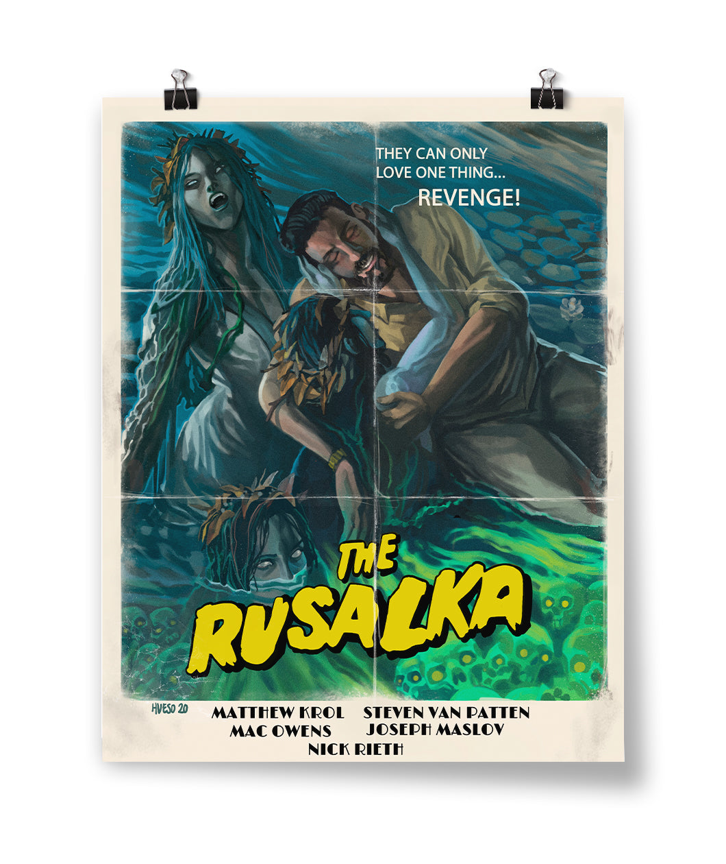 The Rusalka Poster