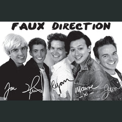 Faux Direction Poster