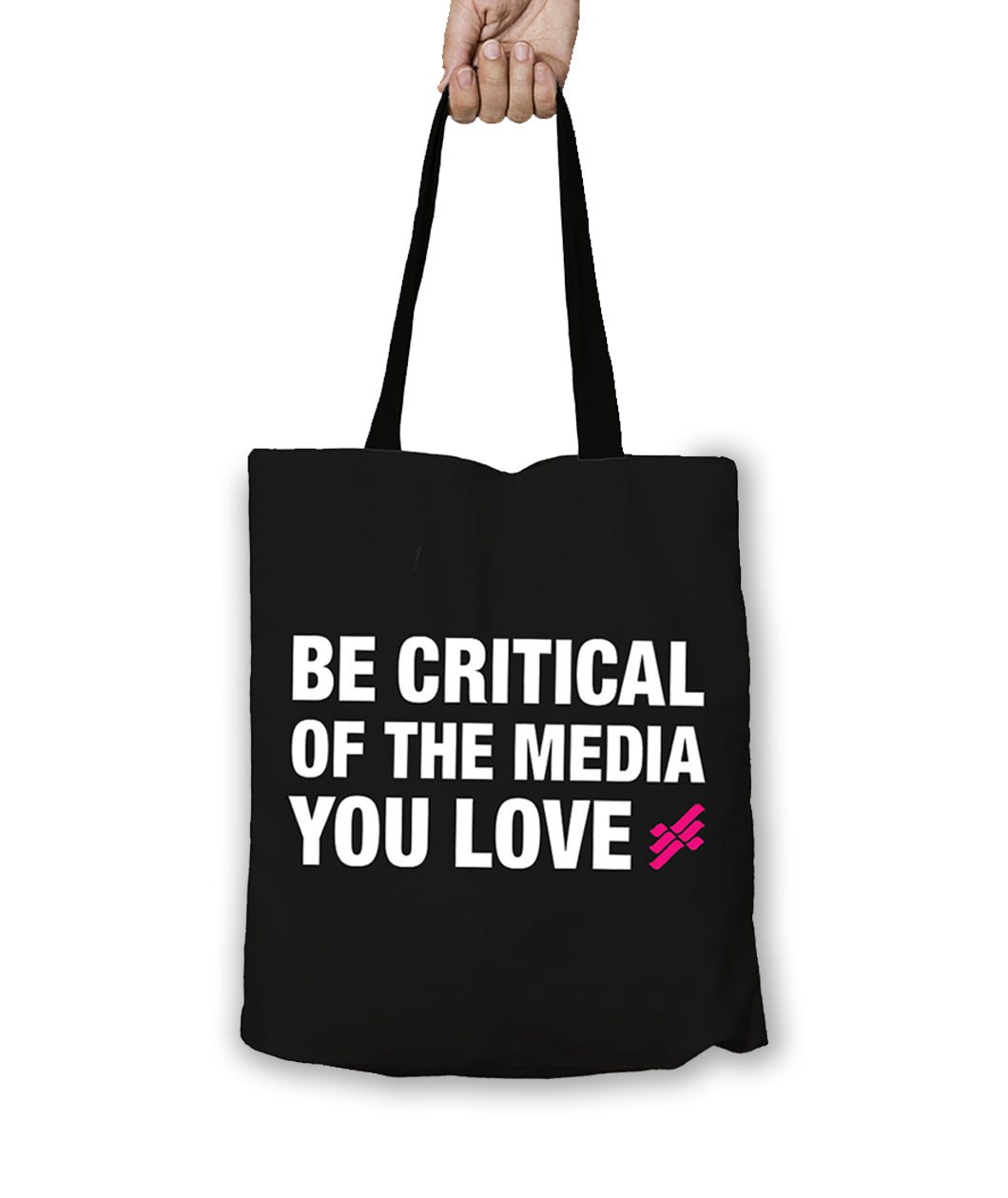 FemFreq Be Critical Tote Bag