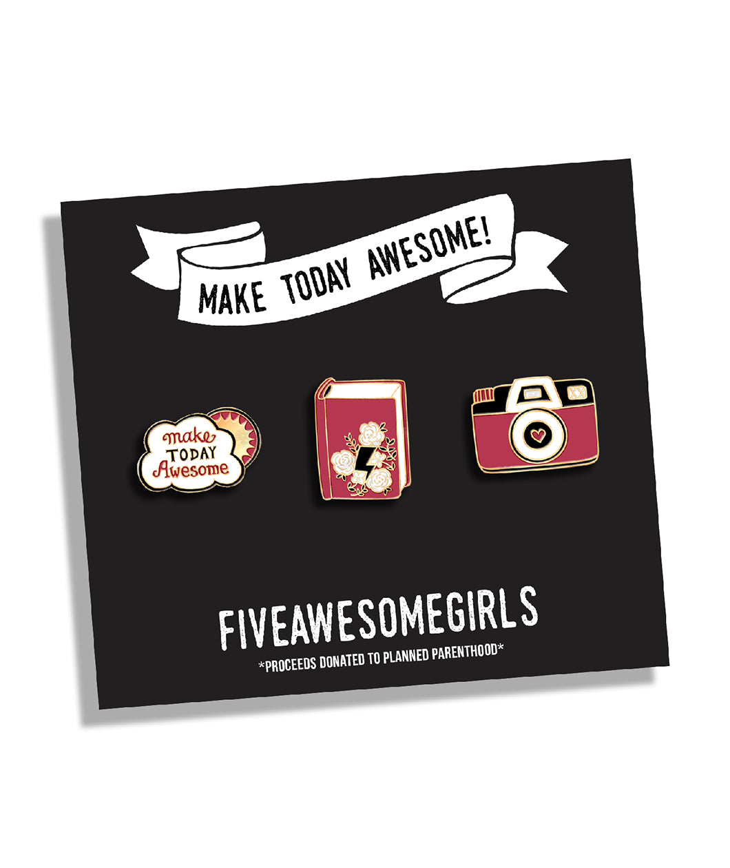 Fiveawesomegirls Lapel Pin Set