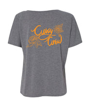 Curvy Crew V-Neck Shirt