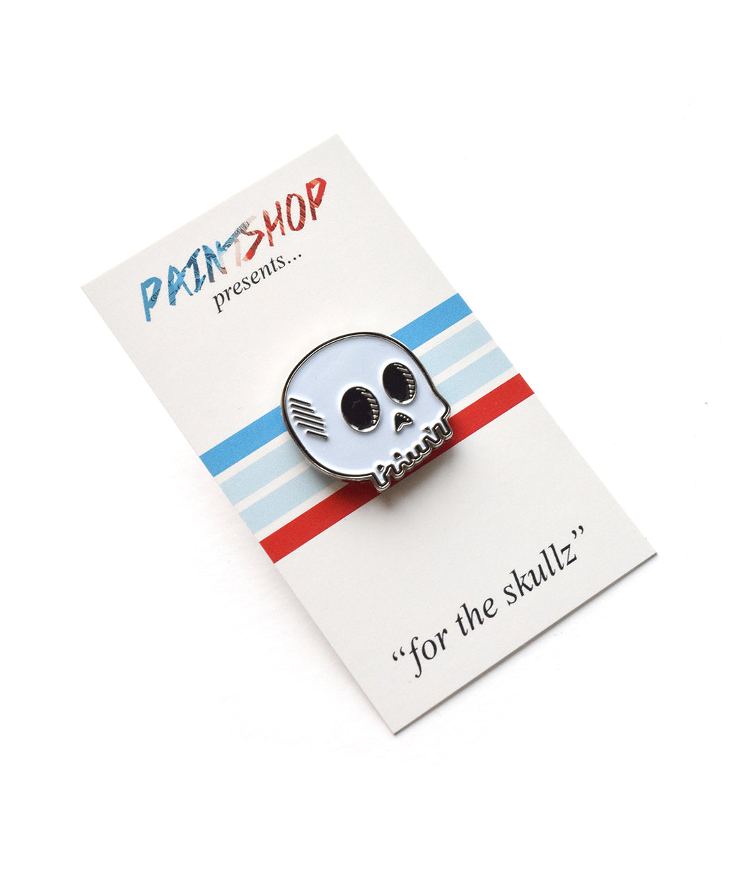For The Skullz Lapel Pin