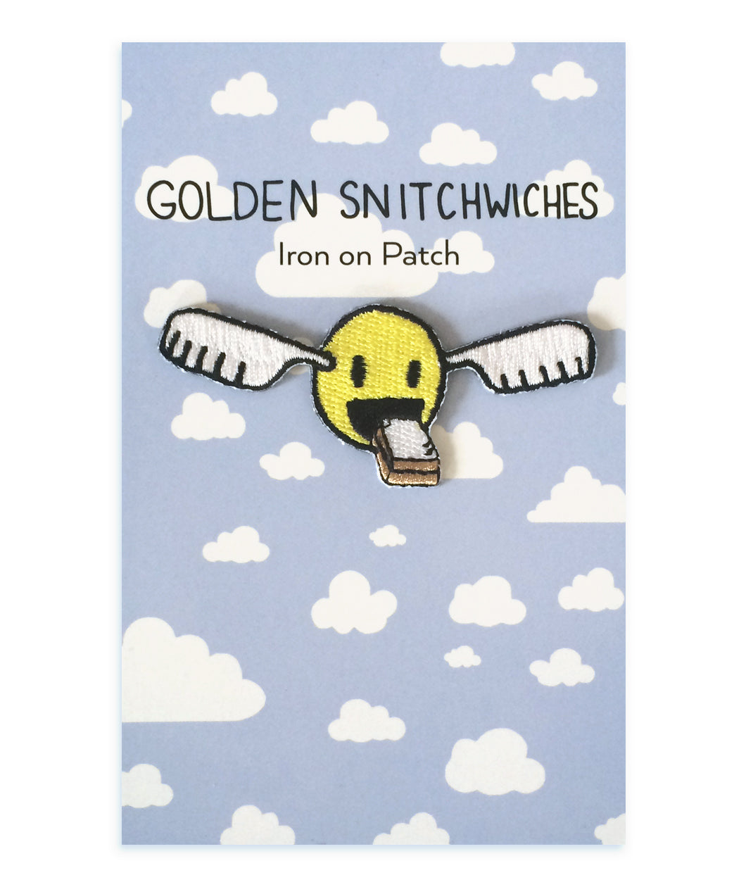 Golden Snitchwich Iron-On Patch