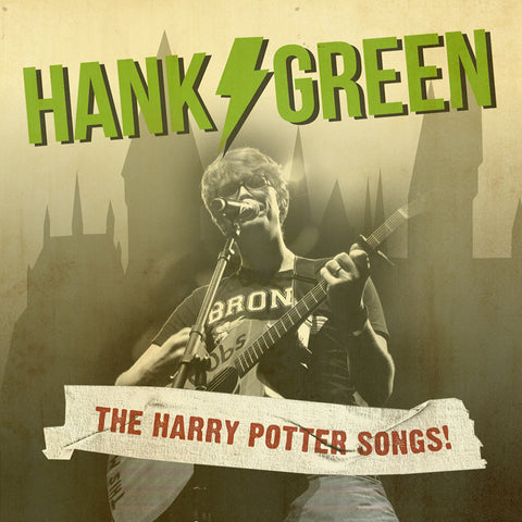 Hank Green - The Harry Potter Songs CD