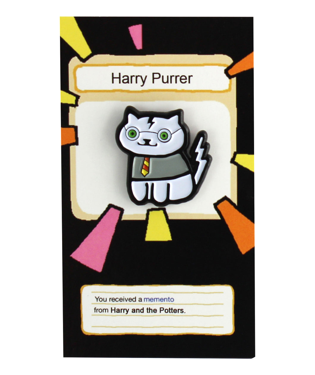 Harry Purrer/Neko Atsume Enamel Pin
