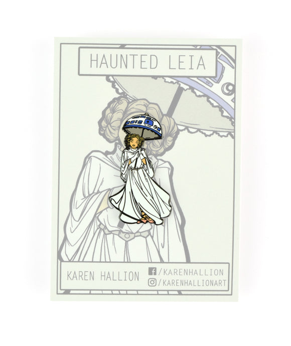 Haunted Leia Pin