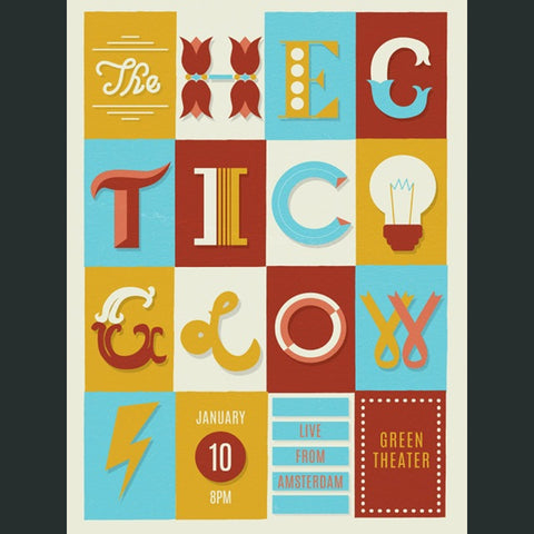 The Hectic Glow Poster