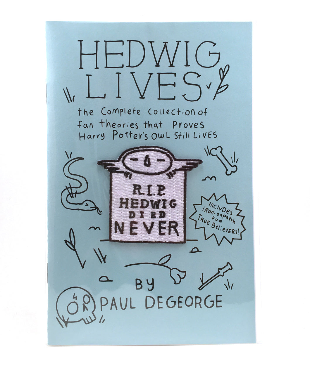 Hedwig Lives Zine + Patch