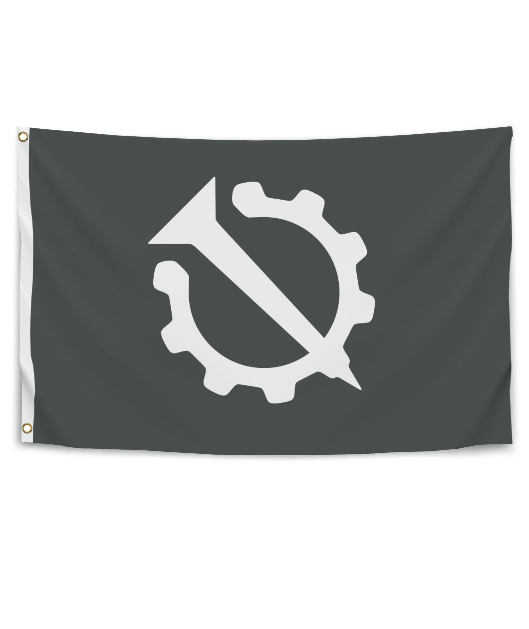 Nail and Gear Flag