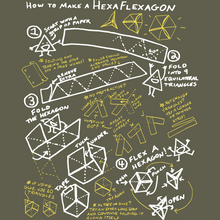 How To Make A Hexaflexagon UNISEX Shirt