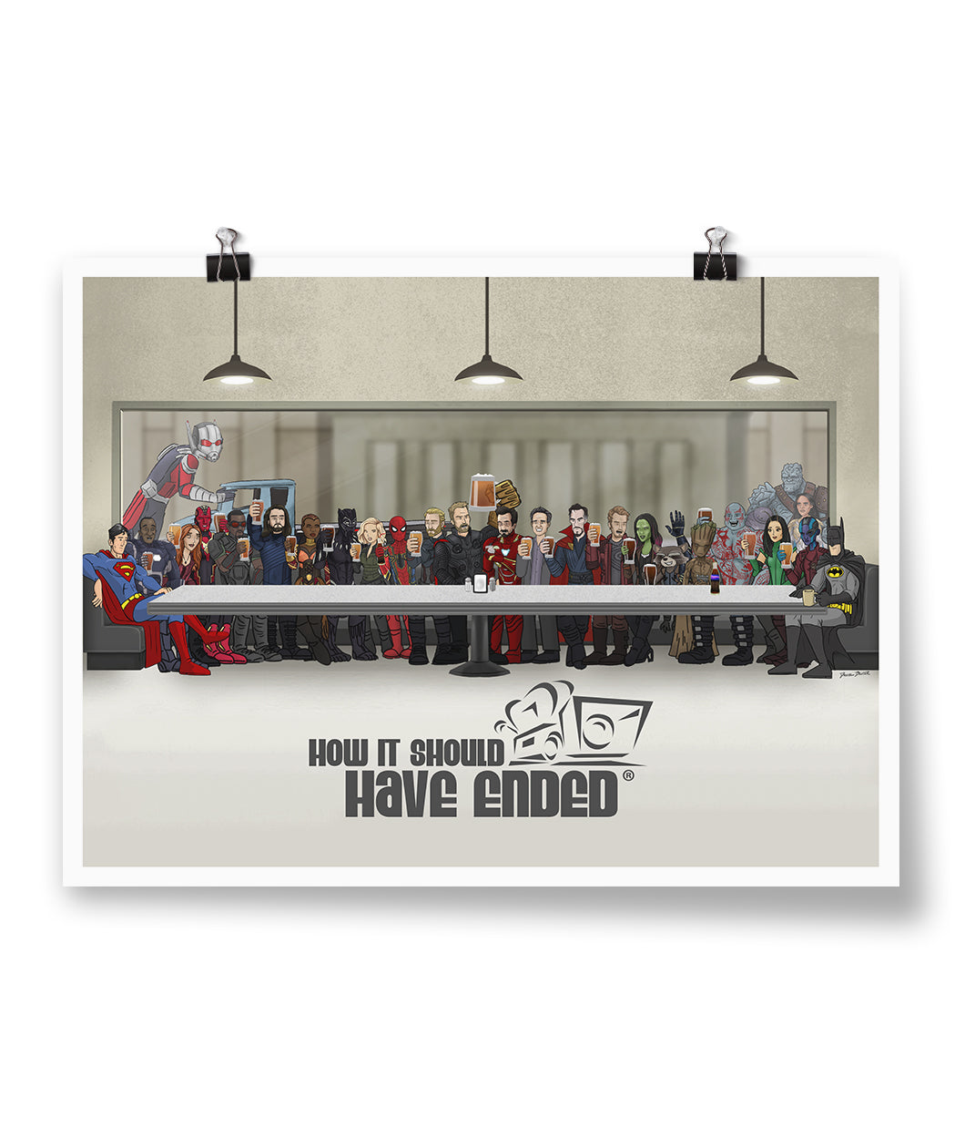 HISHE Last Supper Poster