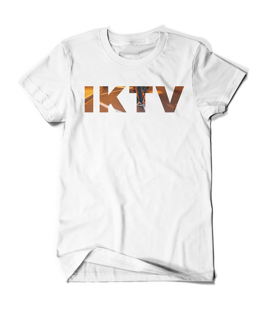 IKTV Bike White Shirt