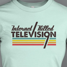 Retro IKTV Mint Ladies Shirt