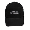 I Live On The Internet Polo Hat