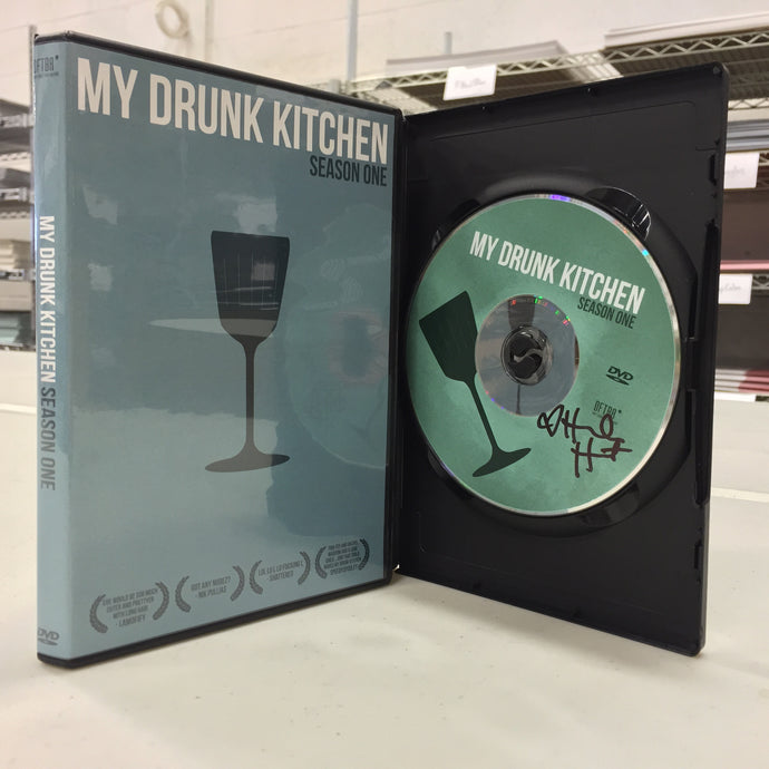 My Drunk Kitchen Season 1 DVD