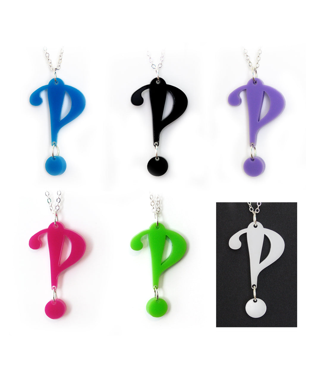 Interrobang Necklace