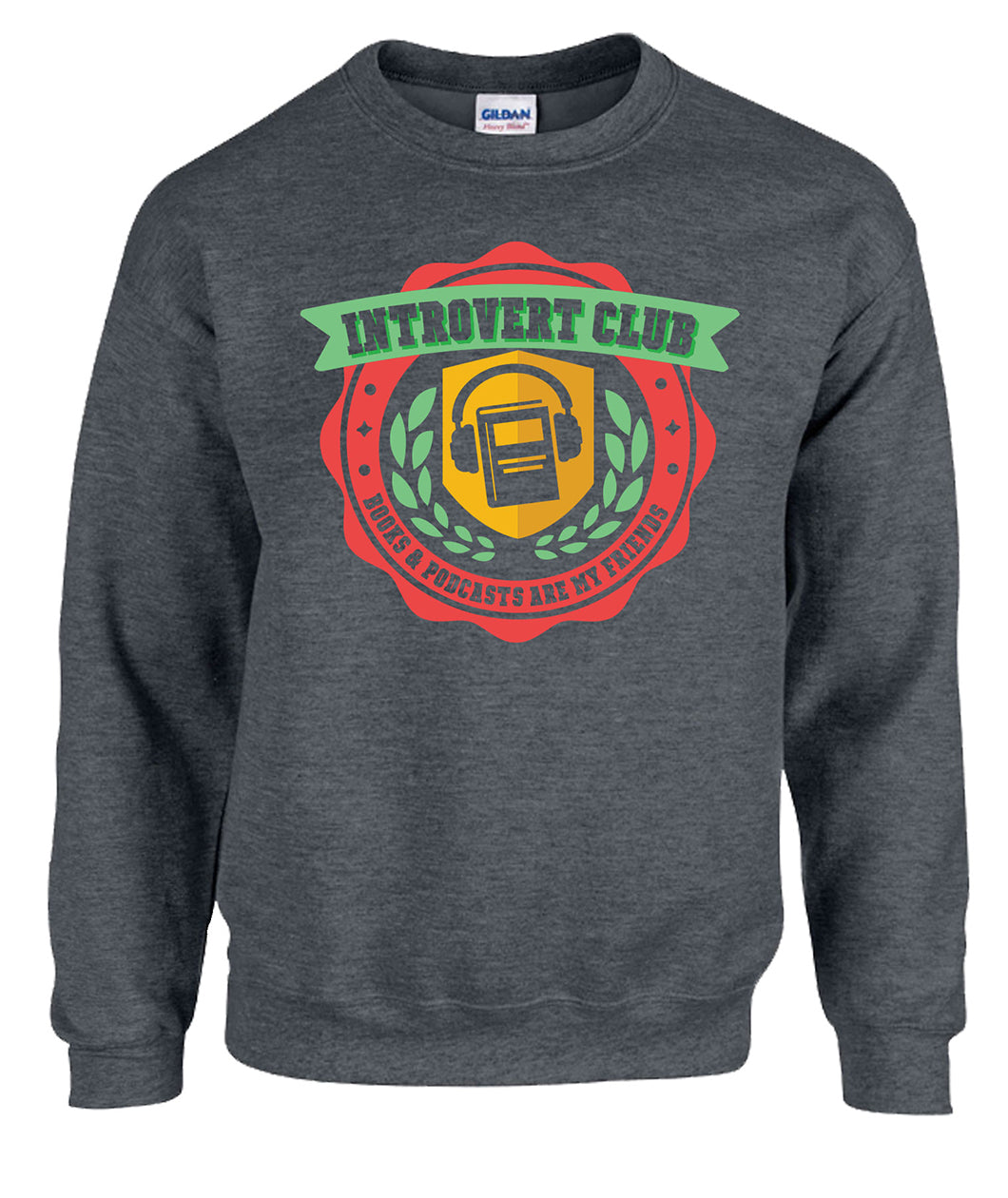 Introvert Club Crewneck Sweatshirt