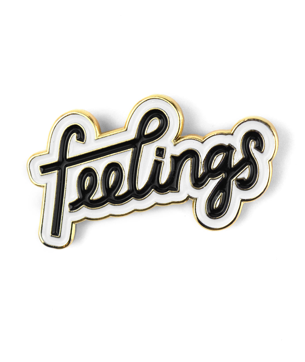 Feelings Enamel Pin