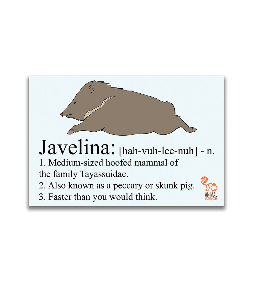 Javelina Decal