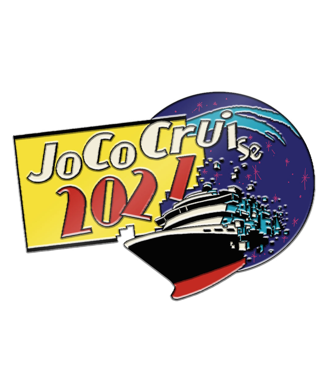 JoCo Cruise 2021 Enamel Pin