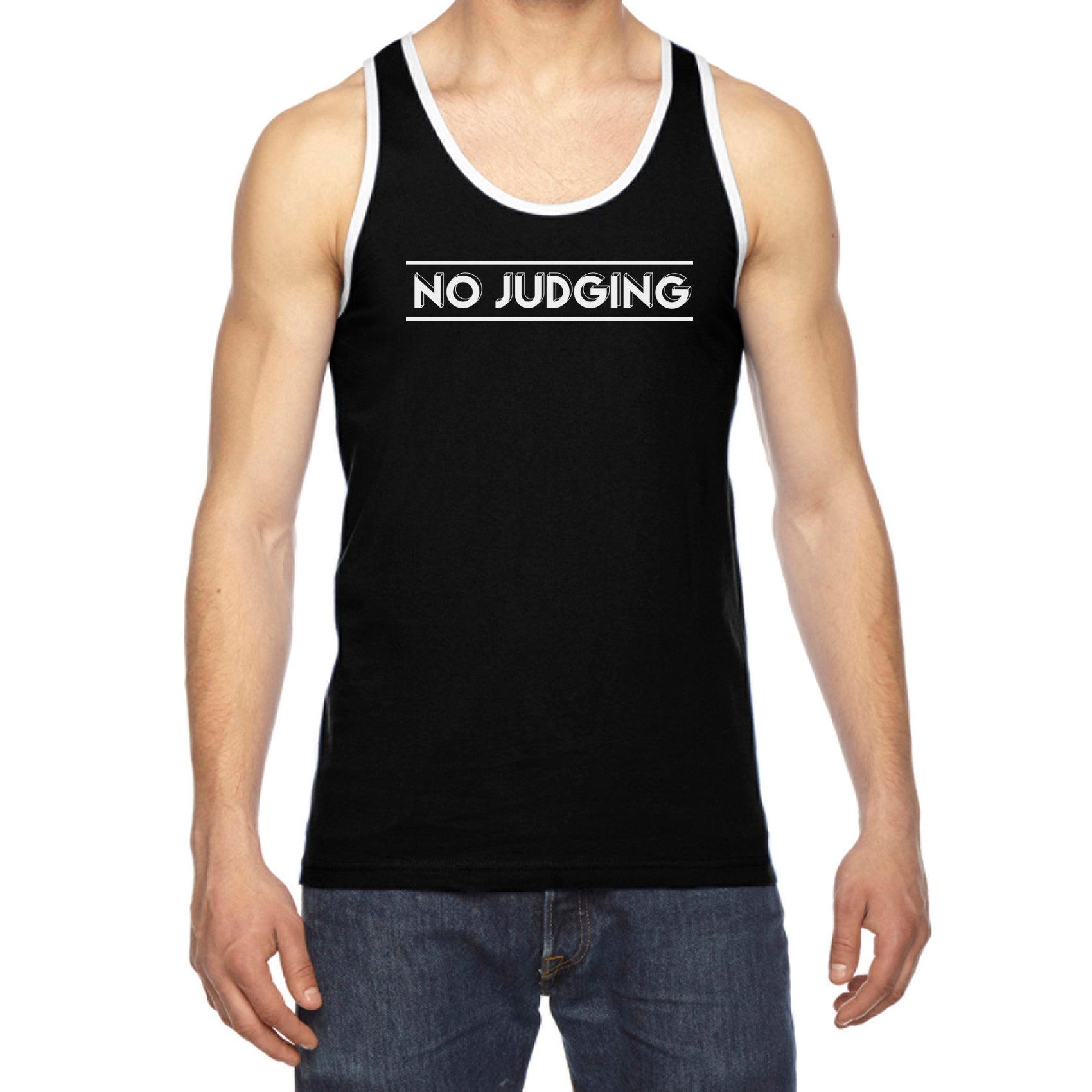No Judging Tank Top