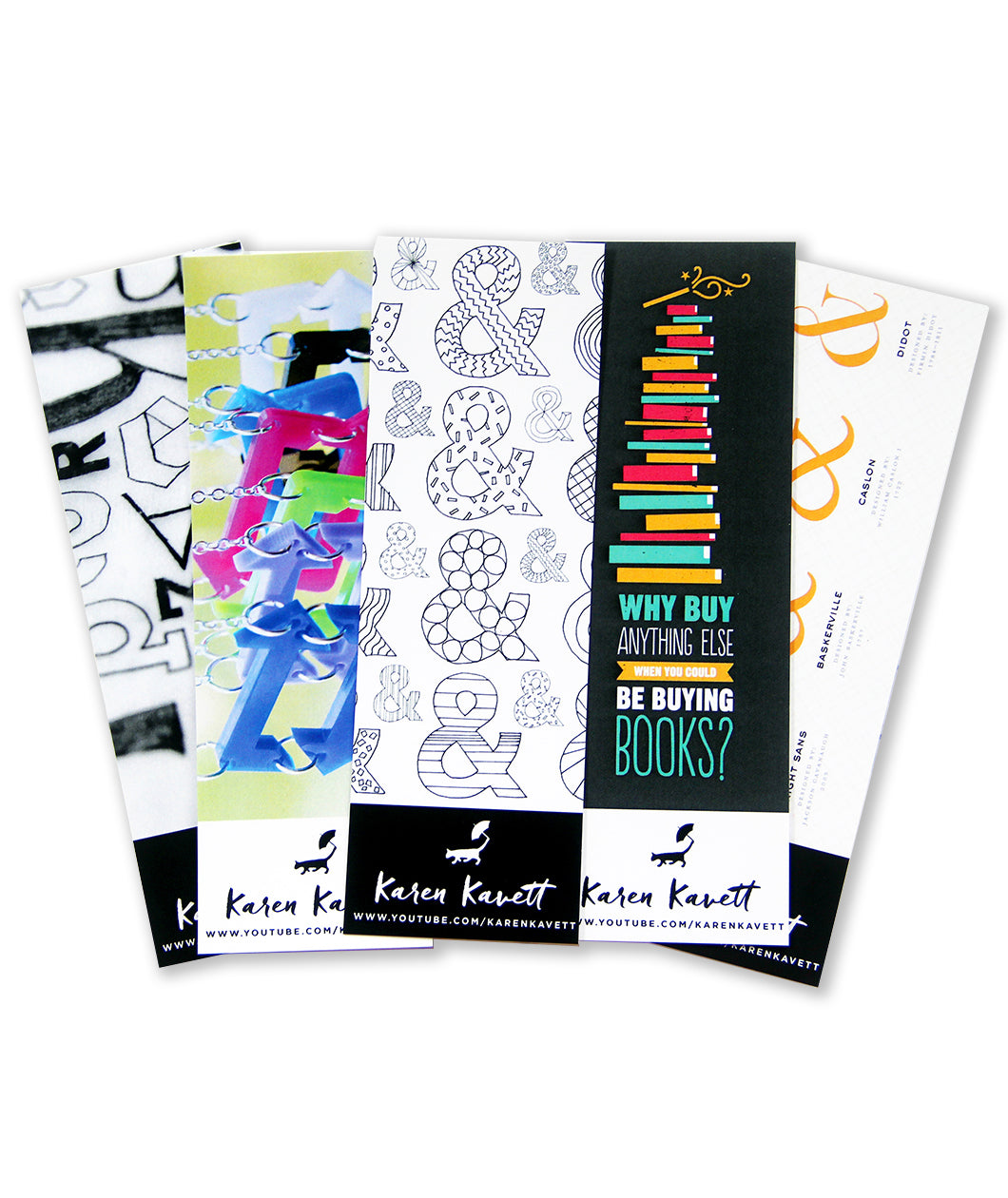 SIGNED Karen Kavett Bookmark Pack