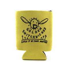 Golden Snitchwich Coozie