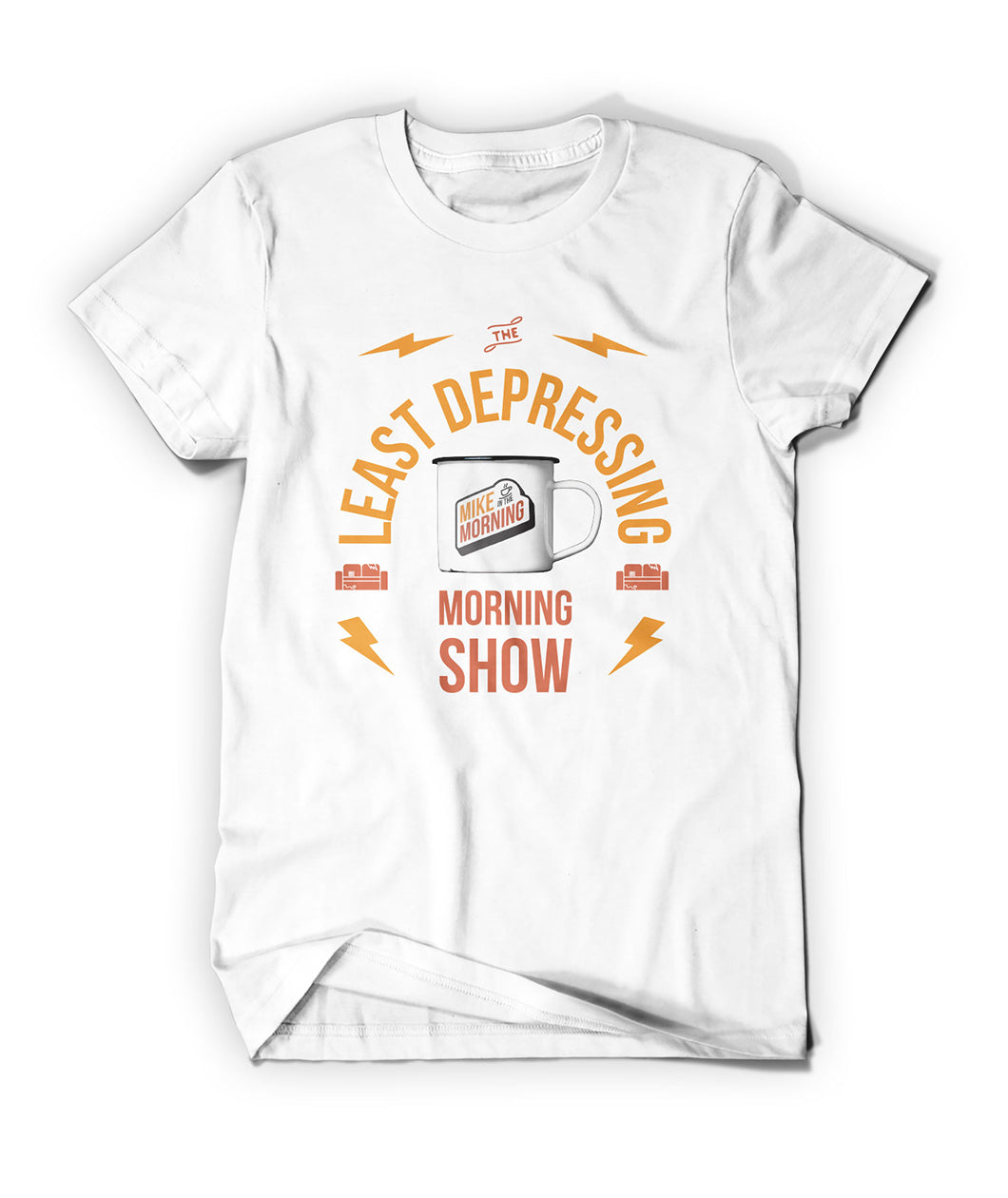 Least Depressing Morning Show Shirt
