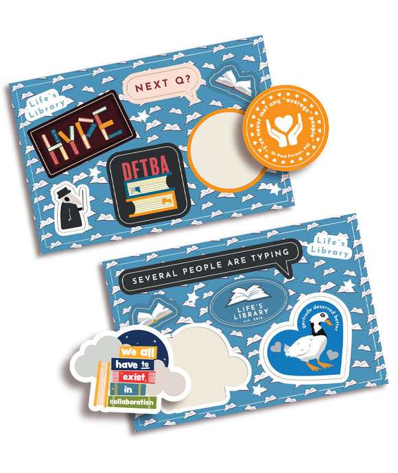 Life's Library Sticker Pack!