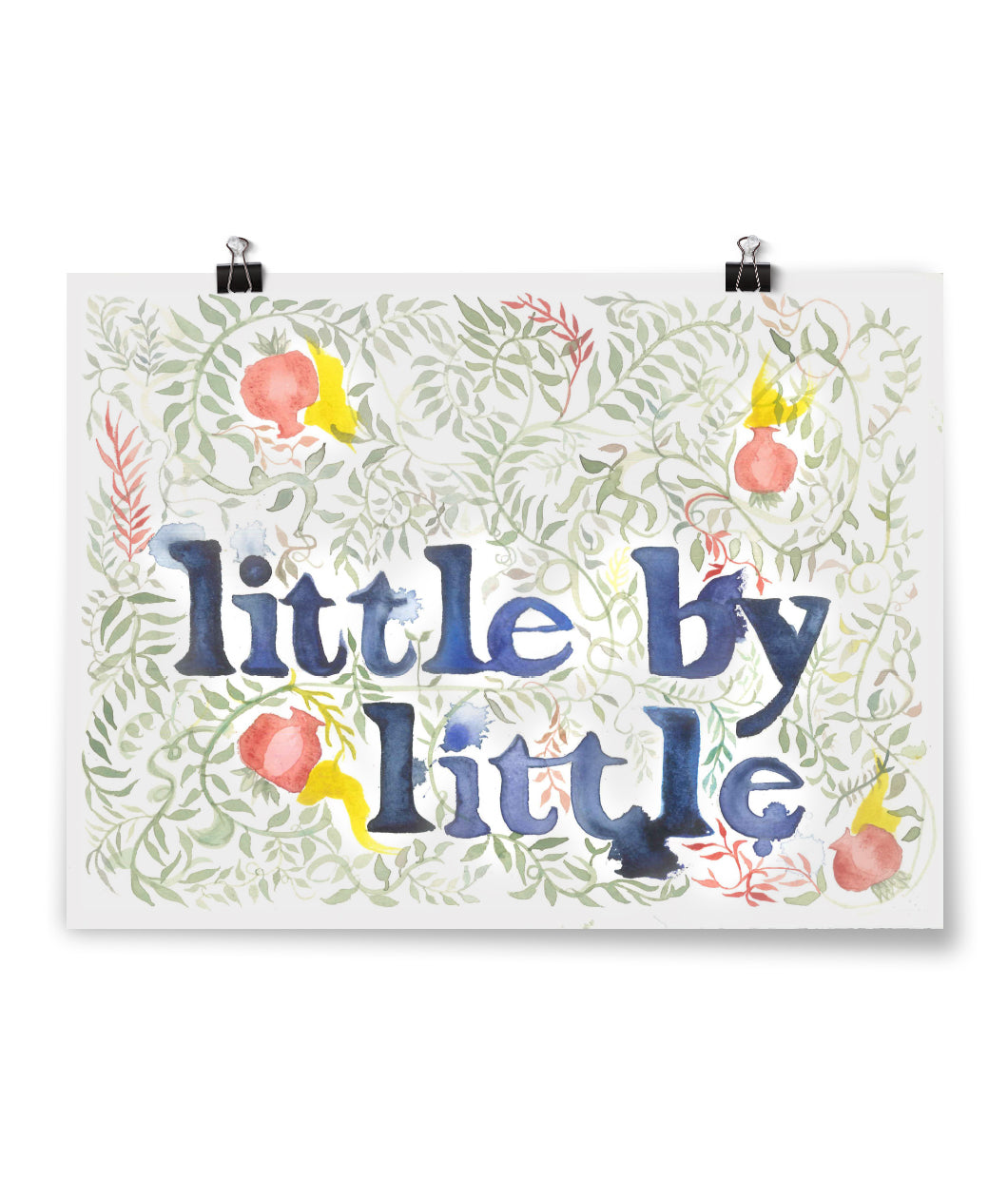 Little By Little Art Print