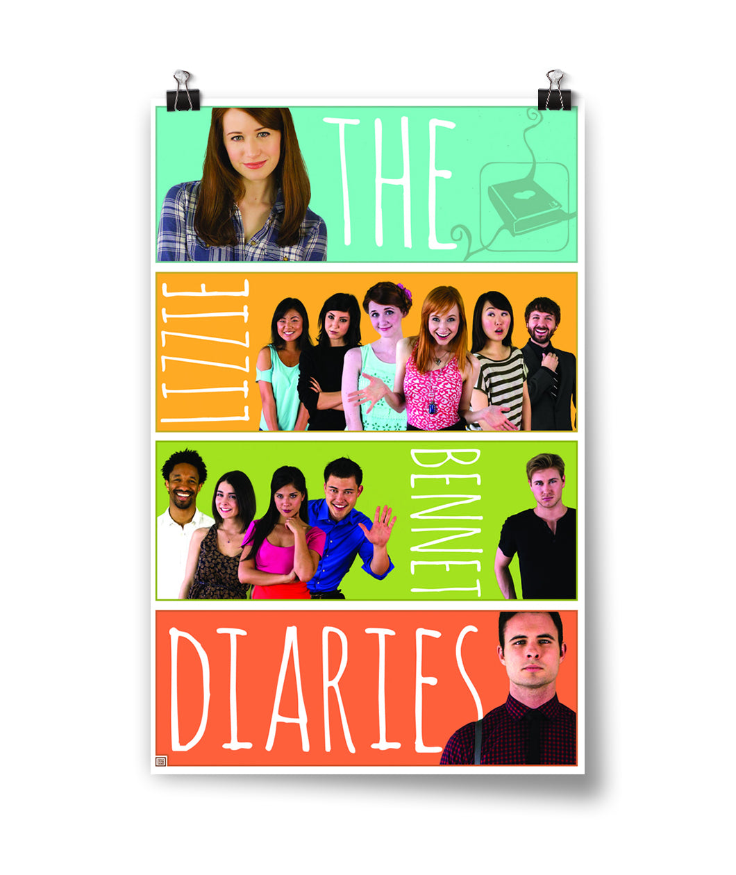Lizzie Bennet Diaries Cast Poster