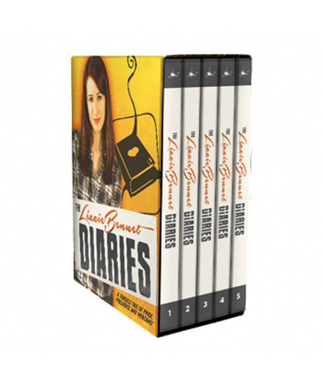 Lizzie Bennet Diaries: The Complete Series DVD Set