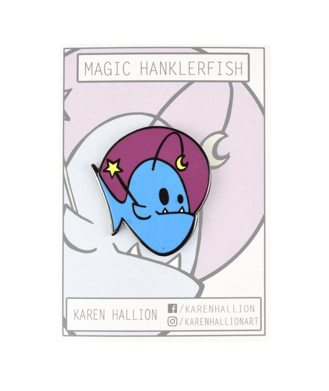 Magic Hanklerfish Pin