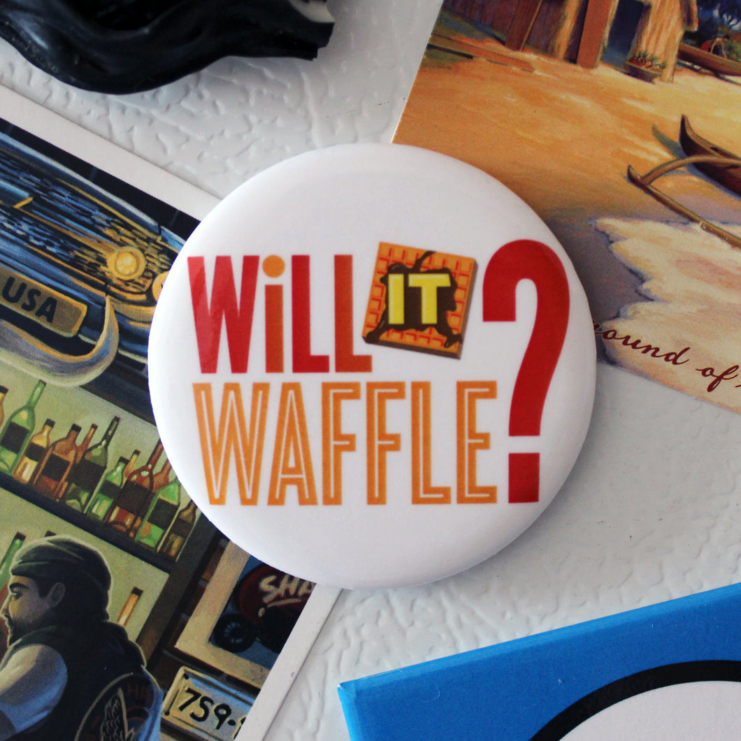 Will It Waffle? Magnet