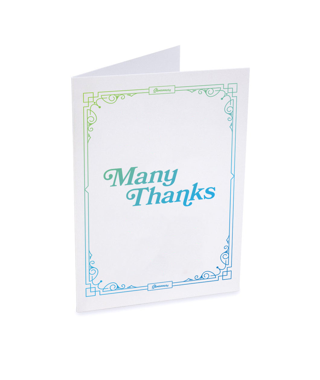 Shmanners Thank You Cards Eight Pack