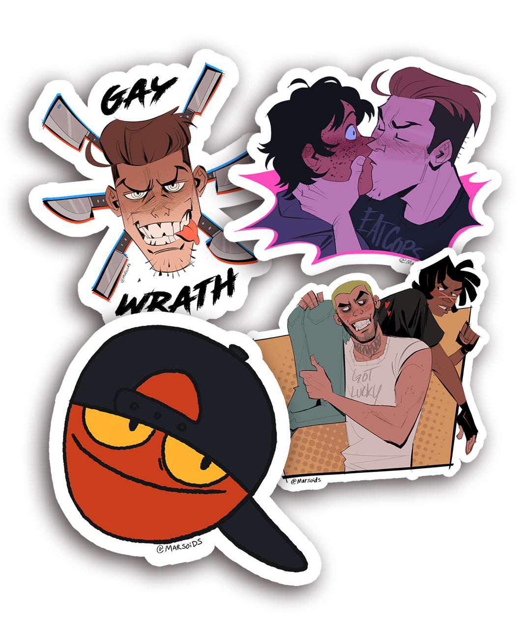 Marsoids Stickers