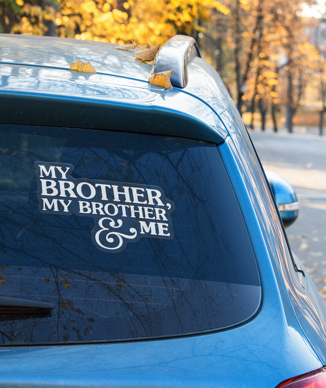 MBMBaM Logo Decal