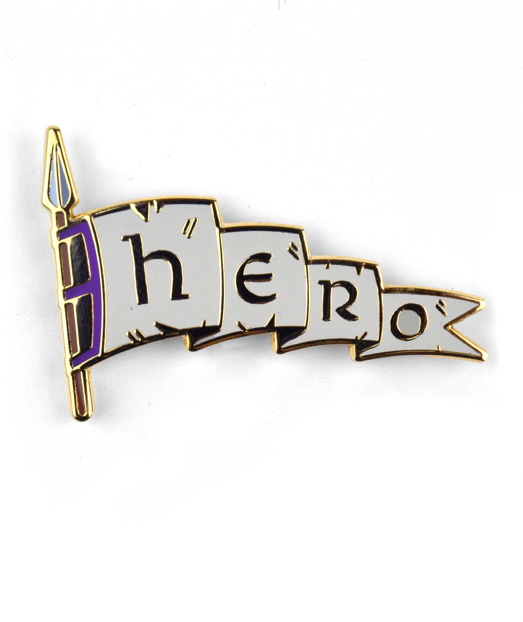 Hero Enamel Pin
