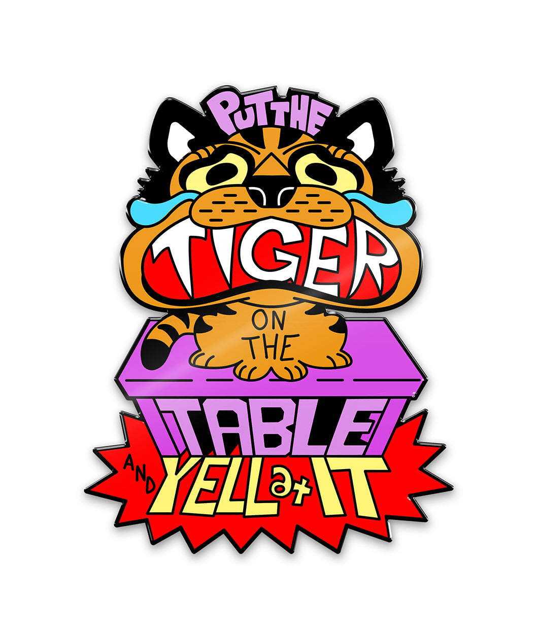 Pin Of The Month: Tiger on the Table Pin (October 2020)