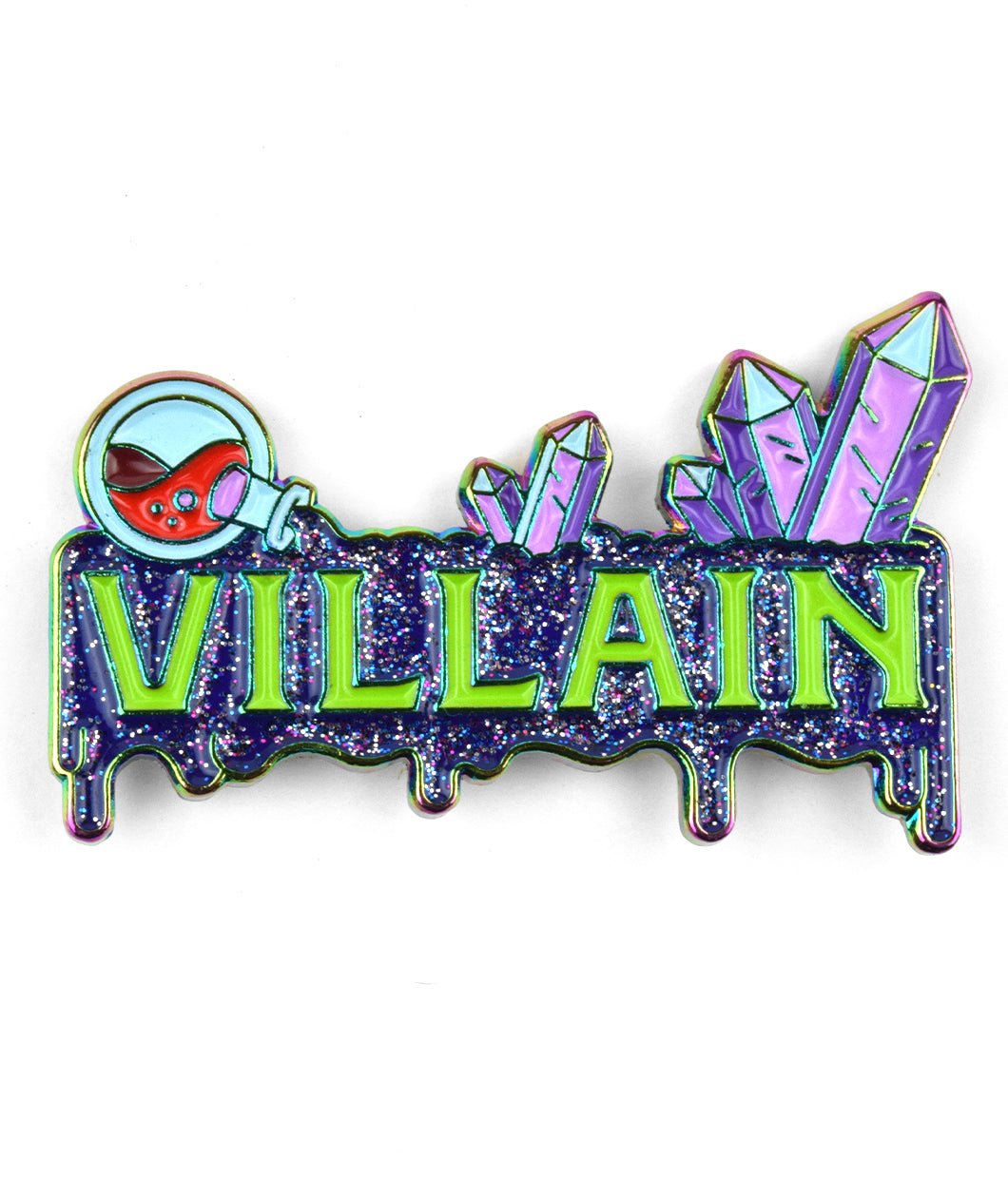 Villain Enamel Pin