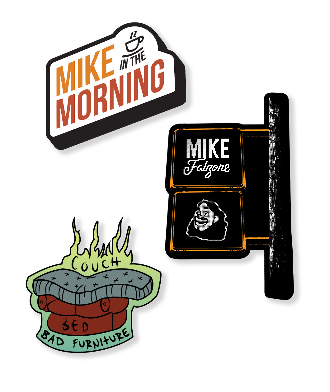 Mike Falzone Sticker Pack