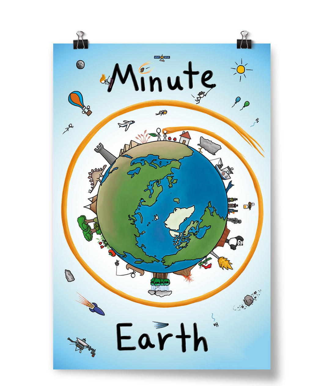 MinuteEarth Poster- SIGNED