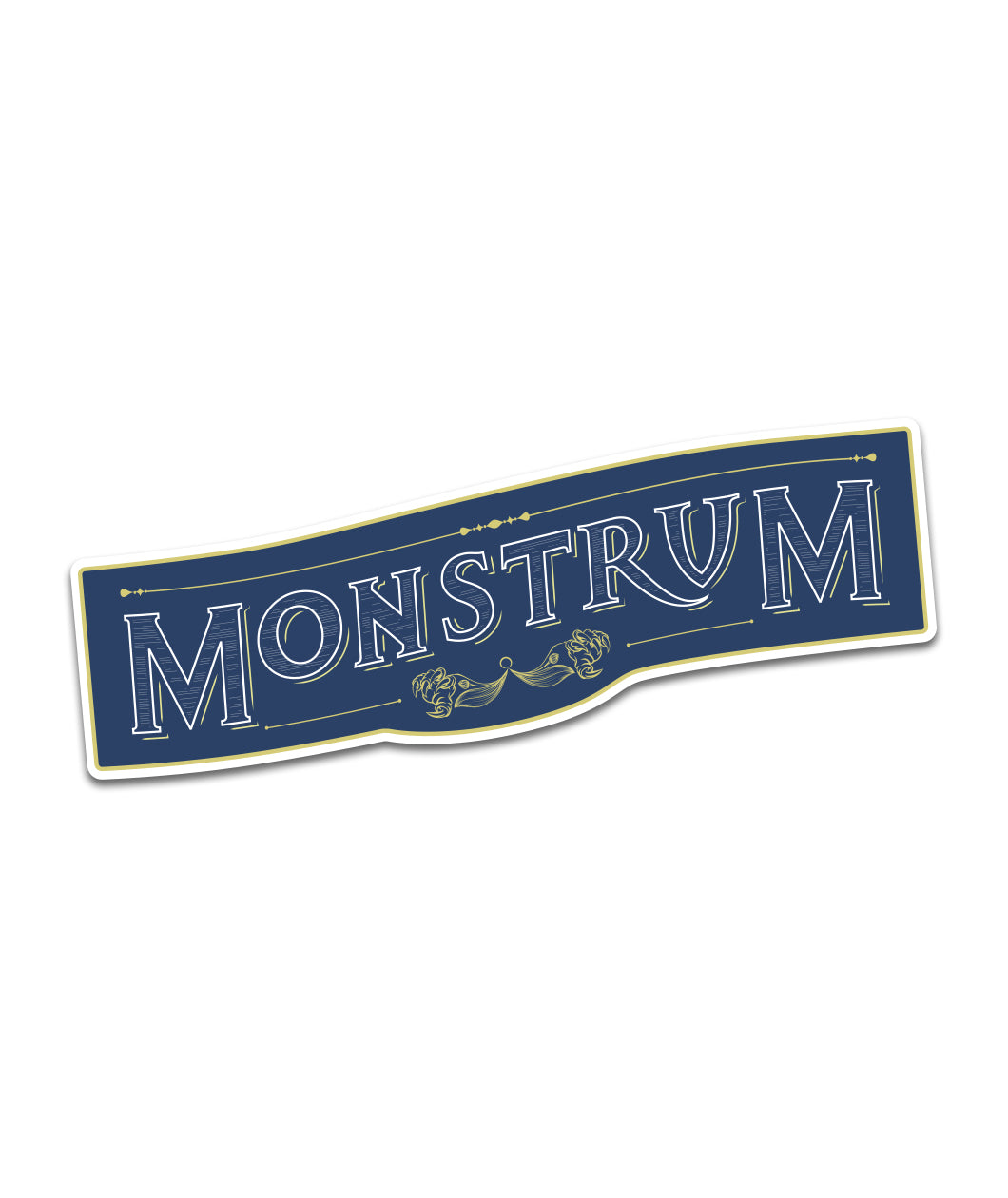 Monstrum Sticker