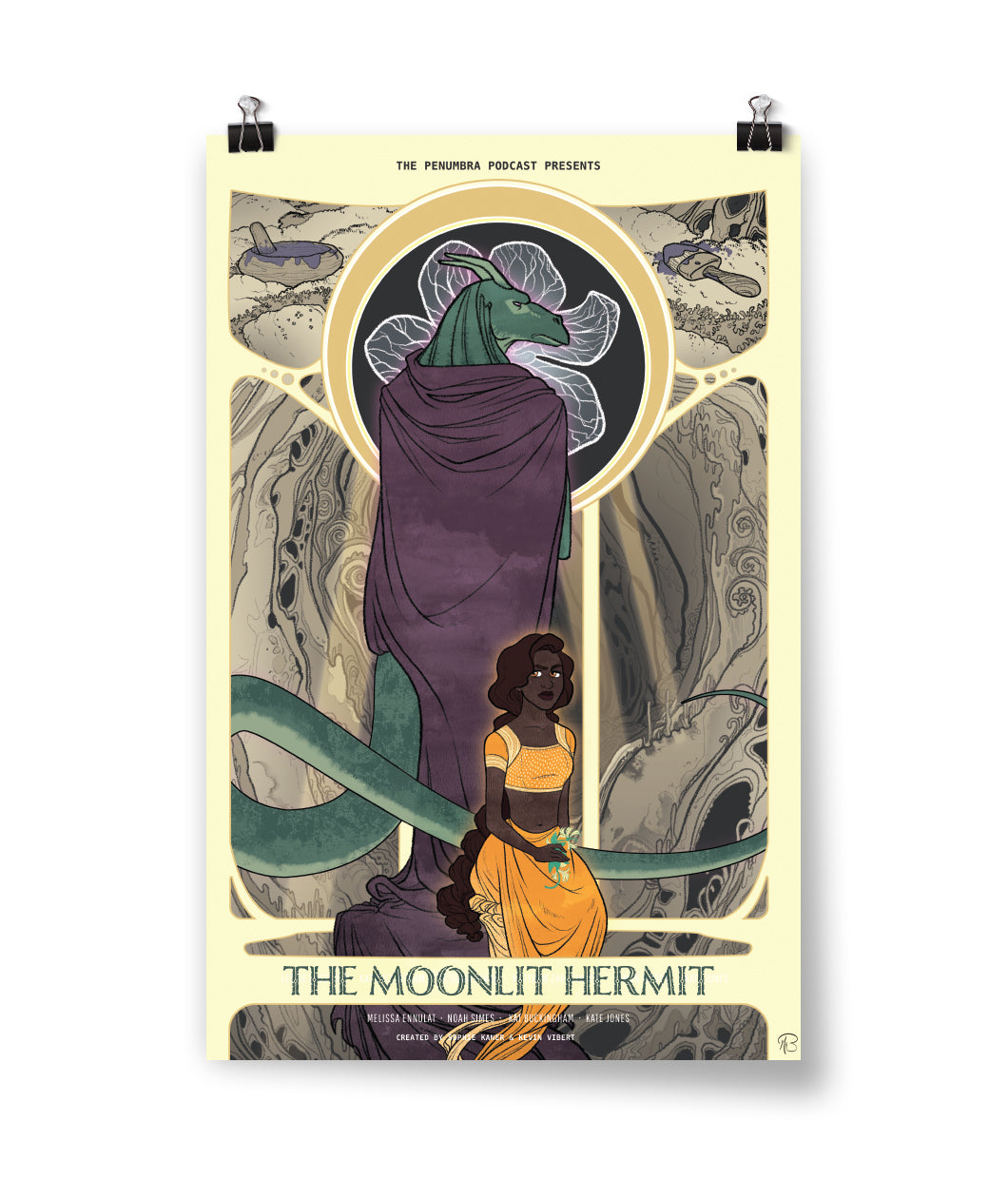 The Moonlit Hermit Poster