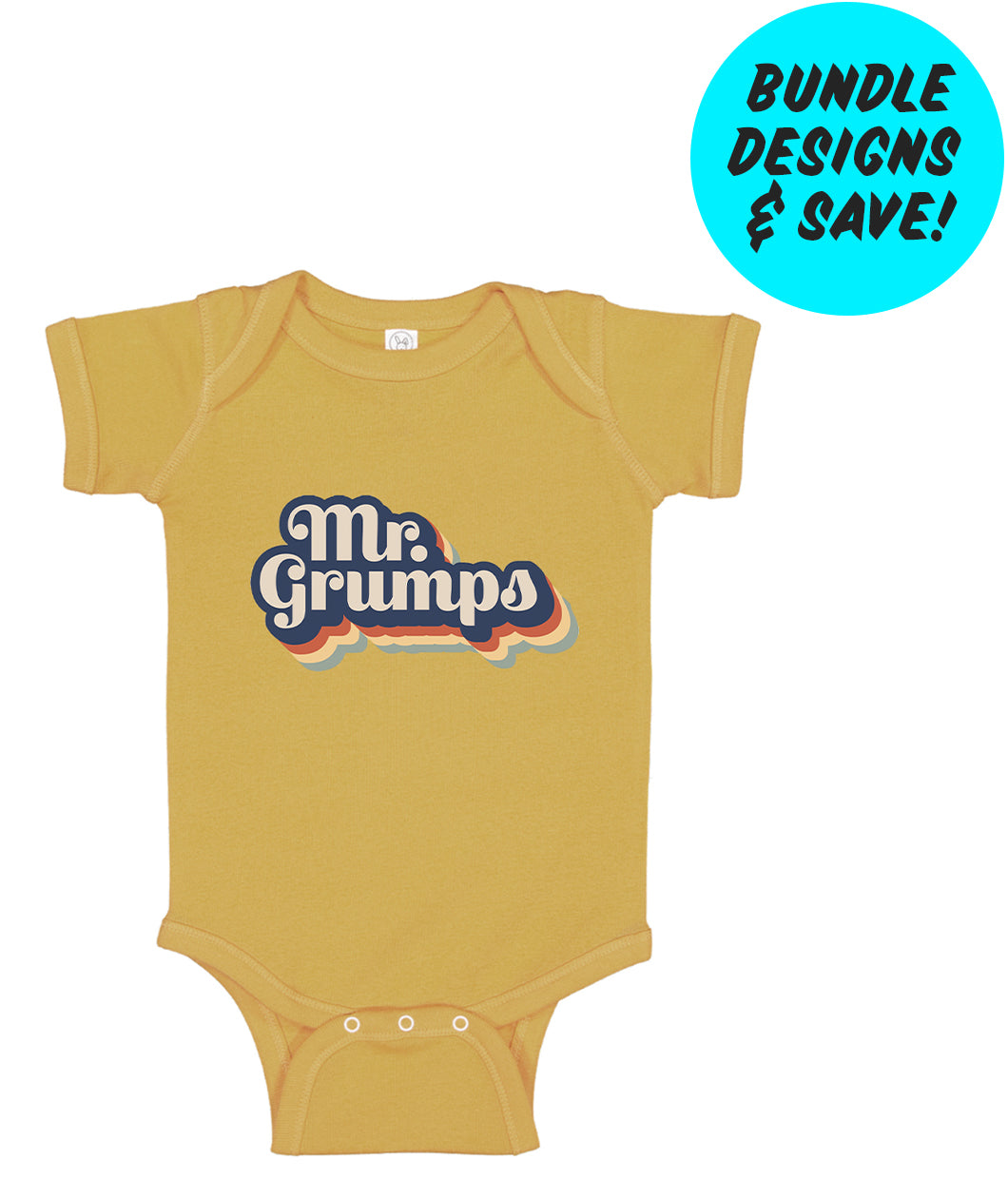 Mr. Grumps Onesie