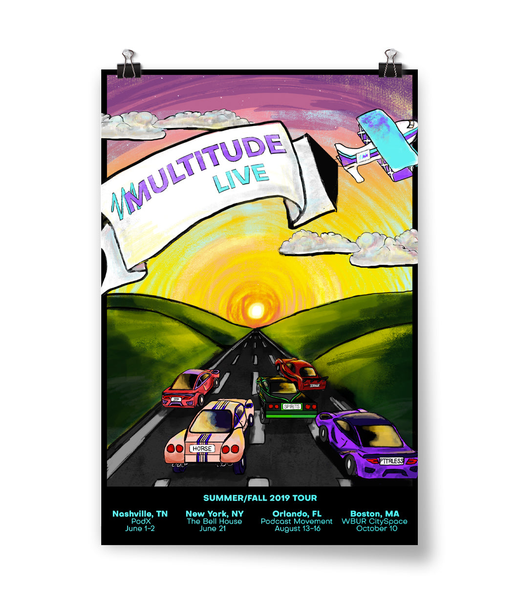Multitude Live! (Summer/Fall) Poster