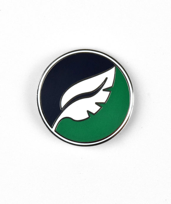 Nature League Enamel Pin