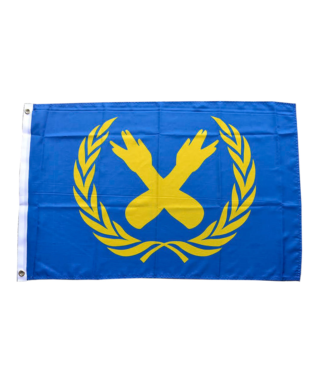 Nerdfighter Crest Flag