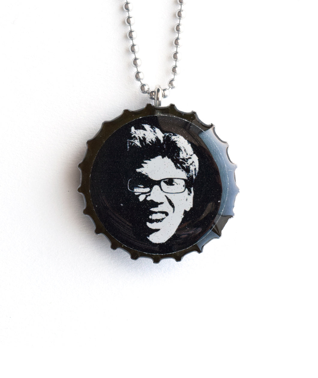 No Edge Bottlecap Necklace