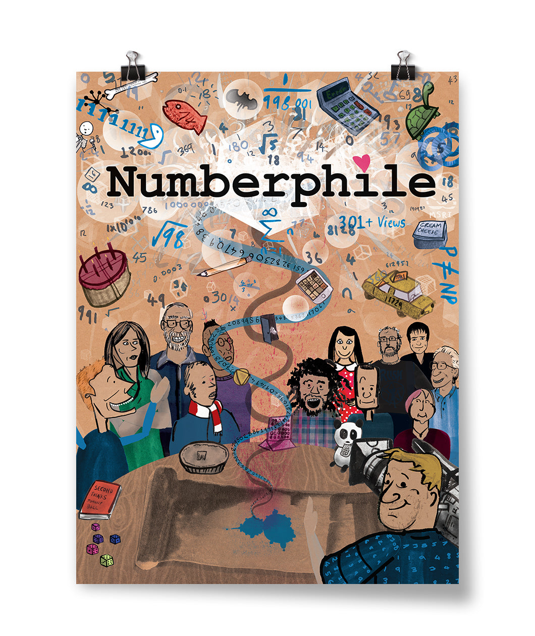 Numberphile Poster